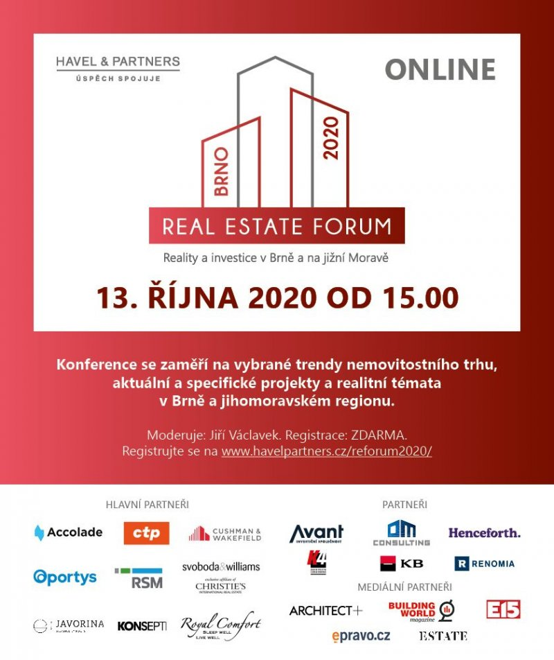 Real Estate Forum Brno 2020